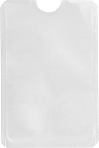 Ochranný obal na platební kartu, bílý