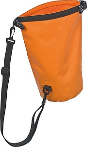Vodotěsná příruční taška na rameno, oranžová