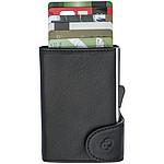 Hliníkový obal potažený kůží na 6 platebních karet s RFID ochranou