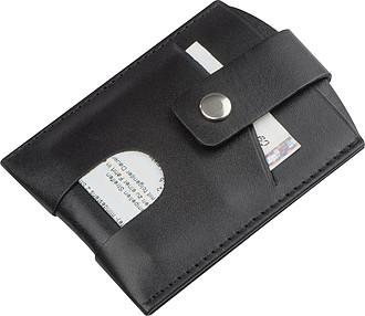 Kožené pouzdro na karty s RFID ochranou