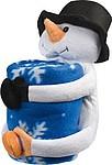 DAFY Hřejivá deka s plyšovým sněhulákem