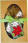 Balíček pro vánoční pohodu s purpurou, františky a svíčkami