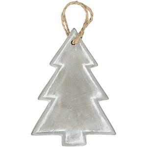 Vánoční ozdoba z cementu s konopnou tkaničkou, ananas