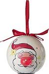 Vánoční baňka se 6 blikajícími světýlky, Santa Claus