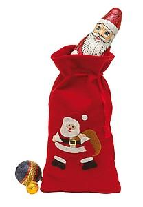BUDY Plstěný pytlík se Santa Clausem