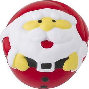Antistresový míček v designu Santa Clause