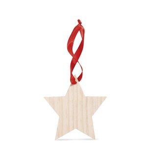 Vánoční dřevěná ozdoba
