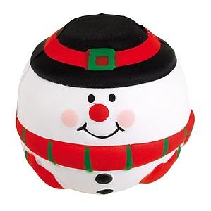 POTES Antistresový míček - sněhulák