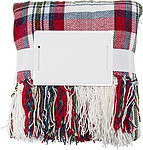 BARDOS Měkká a hřejivá deka z jemné žinylové tkaniny (600 g/m2), 100% polyester, červená