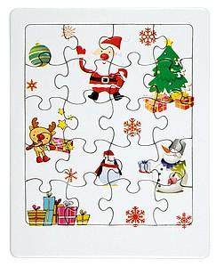 Puzzle s vánočními obrázky