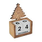LAGOS Vánoční stolní věčný kalendář, dřevo