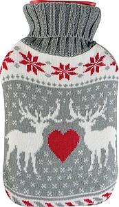 Termofor s návlekem ve vánočním motivu