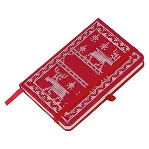 Zápisník s vánočním dekorem