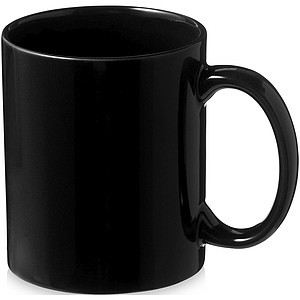Klasický keramický hrnek o objemu 330 ml, černá