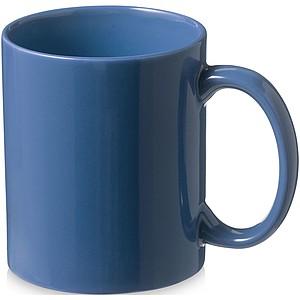 Klasický keramický hrnek, objem 330 ml, světle královská modrá
