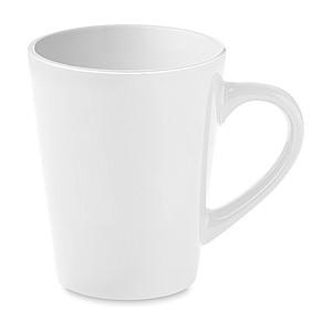 Keramický hrnek na kávu, bílý
