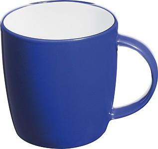 TEGATO Barevný, keramický hrnek o objemu 300 ml, modrý