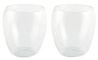 Sada dvou dvoustěnných skleniček, 100 ml