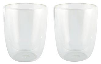 Dvě teplotě odolné sklenice, objem 300ml, transparentní