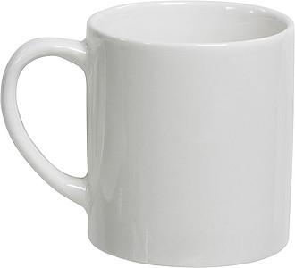 Porcelánový hrnek, 170ml, bílý