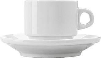 Porcelánový šálek 130 ml s podšálkem