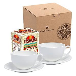 ERBA SET Dárková sada na čaj Vanilla Season