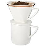 Sada na kávu, bílá, černá