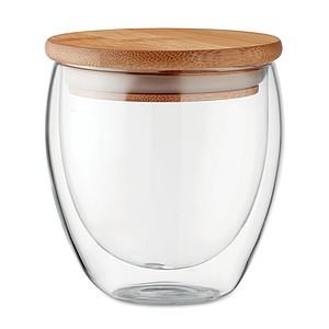 Dvoustěnná sklenice 250ml