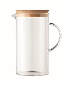 Skleněný džbán 1l, transparentní