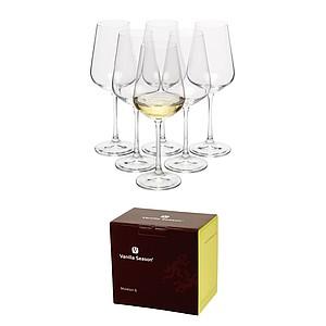 VS MORETON 6 Sada 6ks sklenic na bílé víno, 250ml