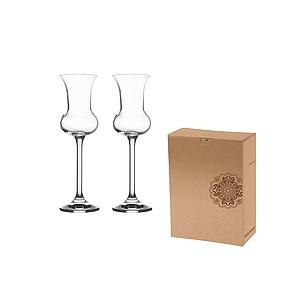VS HAMEDAM 2 grappa Sada 2 skleniček na grappu či rum - reklamní hrnky