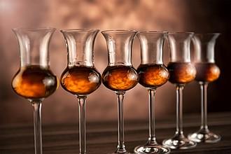 VS HAMEDAM 6 grappa Sada 6 skleniček na grappu či rum
