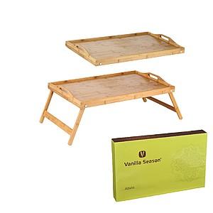VS ABELA Snídaňový stolek do postele, bambus