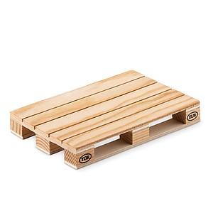 PALY Dřevěný podtácek ve tvaru mini EURO palety