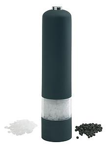 ETADOR Elektrický mlýnek na pepř nebo sůl, černá