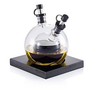 ORBITA Konvička na olej a ocet na stůl, 2 v 1