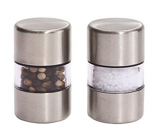 FLAVOUR Sada dvou malých mlýnků na sůl a pepř