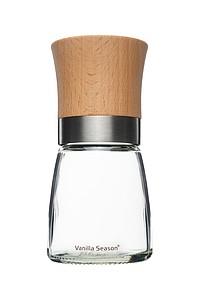 VS TORIO Mlýnek na pepř, skleněný s bambusovým víčkem