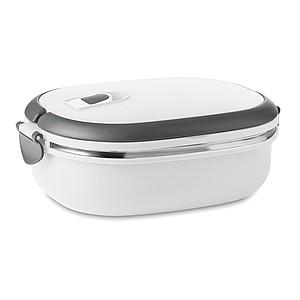 Obědový box se vzduchotěsným víkem, bílý