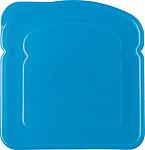 Lunchbox ve tvaru sendviče, světle modrý