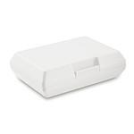 RABAN Jednoduchý obědový box, bílý