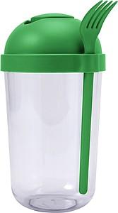 NANY Plastový svačinový pohár na salát