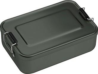 Hliníkový lunchbox, antracitový