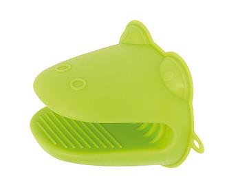 CROCO Silikonová kuchyňská rukavice tvaru krokodýla