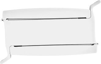 METSI Plastový klip na dva sáčky, bílá