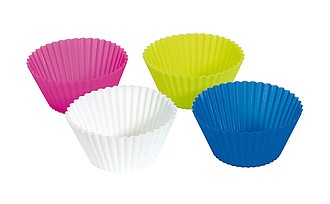 Sada 4 barevných košíčků na pečení