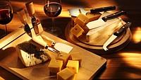 CHEDAR Prkénko na sýr + 3 nože na sýr