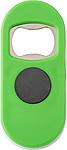TRIMAR Plastový otvírák s magnetem, světle zelený