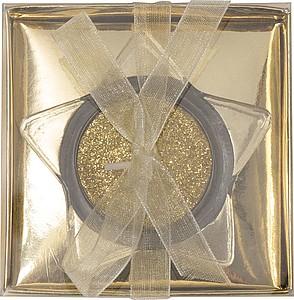 Svícen ve tvaru hvězdy s čajovou svíčkou