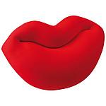KISSIK Polštářek ve tvaru rtů